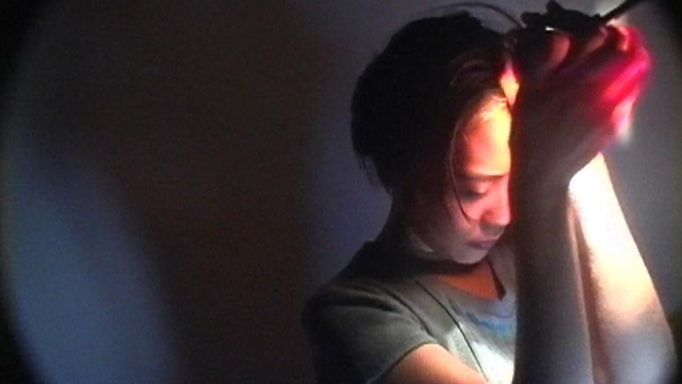 "Filmstill aus ""Gina Kim's Video Diary"" (Harvard Film Archive)"